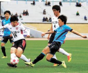 天皇杯サッカー JFLソニー仙台、J3盛岡に競り負ける