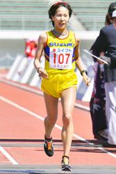 安藤、日本女子トップ 清流ハーフマラソン