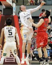 バスケBリーグ 仙台、ずるずる7連敗