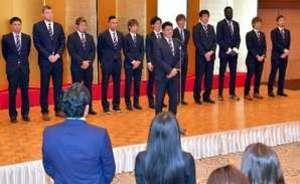 バスケBリーグ 広島、プレーオフへ活力注入 感謝の会