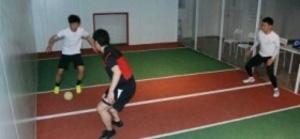 ジョーキーボール 箱形コートのサッカー 久留米から世界へ 6月にイタリアで大会