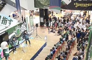 J2松本 元選手の解説、試合振り返る 岡谷市でトークショー