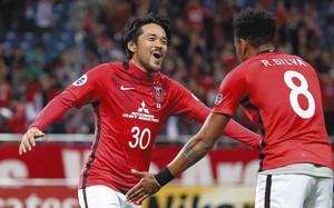 J1浦和 2年連続の決勝トーナメント進出 猛攻6点
