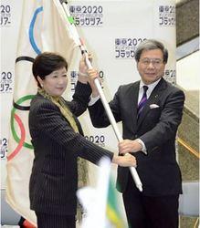 「五輪旗」熊本県内で巡回展示 小池都知事が熊本訪問