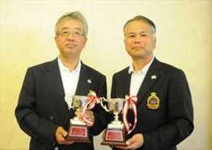 ゴルフ 栃木県ダブルス シニアは大塚・大谷組が優勝 女子は田崎・上野組が制覇