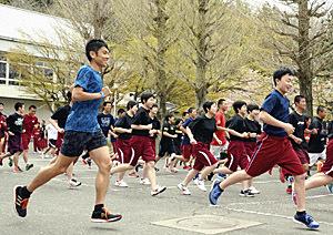 今井正人選手、円井彰彦選手も力走 田村高マラソン大会