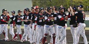 野球BCリーグ福島、待望の勝利 8回、高橋祥が逆転打