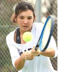 エース狙え リュー理沙マリー、米大学テニス女子複ランク3位