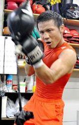 比嘉大吾「沖縄から王者に」 ボクシング世界戦に挑む