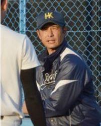 広経大野球部コーチに就任した平松一宏さん