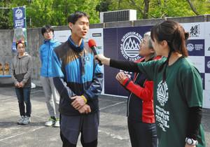 山道70キロ「楽しい走りを」 奥三河パワートレイル開会式