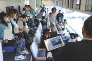 「拡張現実」で応援 J1磐田、見学ツアーにスマートグラス導入