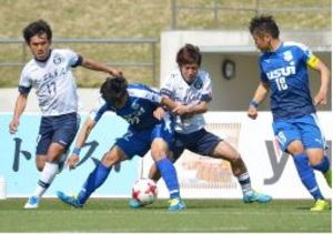 J3鹿児島、4連勝ならず 沼津に0-2