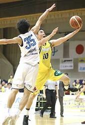 バスケB2信州、ホーム最終戦飾れず 東京Zに64―76