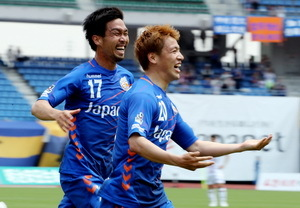 J2長崎3-0で岡山に快勝 2連勝で6位に浮上