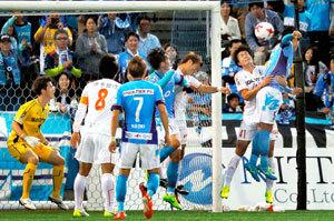 J2・第11節 愛媛FC、横浜FCに苦杯 完敗0―4