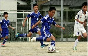 「仲間と自分 信じ楽しむ」 西日本少年サッカー