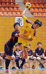 神埼8年ぶり男子V ハンド九州中学生選抜大会