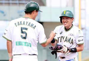 富山惜敗、滋賀に5-7 野球BCリーグ