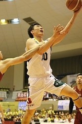 バスケB2信州、奈良に敗れる