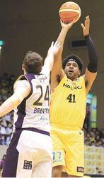 バスケB1仙台、ホワイト復活 最多タイ27得点