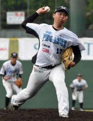 15点快勝、ルーキー荻野初勝利 野球BCリーグ群馬