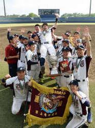 太田市役所V、昨年の雪辱晴らす 天皇杯軟式野球群馬会