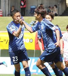 J3富山快勝 福島に2-0