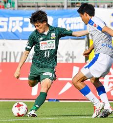 J2岐阜、連勝ストップ 大分に1-2
