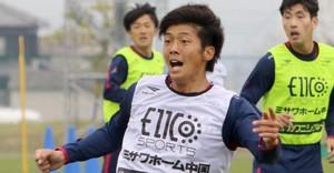 J2岡山、塚川選手 ももクロの曲で元気もらっています