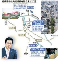 札幌・地下鉄、延伸減速 新球場構想など需要見通せず