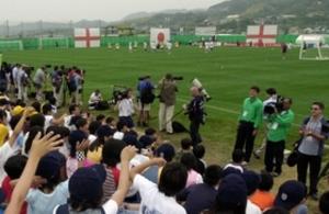イングランド U-20W杯キャンプ地に淡路島