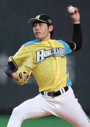 日本ハム 競り勝つ 加藤が3勝目 日2-1西(10日)