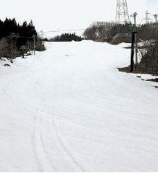 スキー ゲレンデにプラスチック樹脂製のマット 通年滑走可能に
