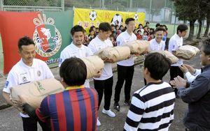 サッカー 四万十町の有志が高知ユナイテッドの後援会結成