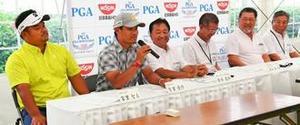 ゴルフ 日本プロ日清カップ、沖縄で11日開幕 宮里聖志、優作 地元優勝に挑む