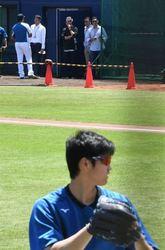 MLB レンジャーズGM、大谷を視察
