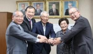 ボクシング 村田諒太の王座戦応援を 笠岡の祖父母が市長を表敬
