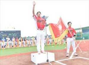 「とちおとめ」のようにと宣誓 栃木県で東日本軟式野球開会