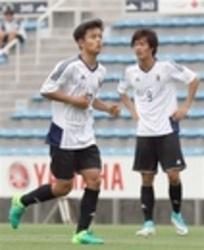 小川航と久保が2トップで連係 サッカーU―20代表合宿