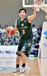 バスケB2西宮1部昇格 移籍の松崎「熊本元気づけたい」