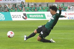 J2松本、3試合勝利なし ホームで町田と1―1