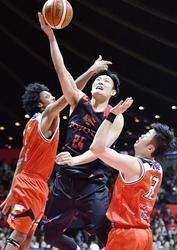 バスケB1三遠、初戦黒星 B1チャンピオンシップ準々決勝