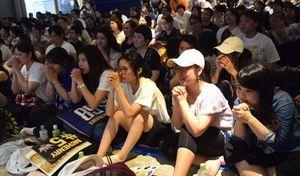 バスケB1琉球ファン、勝利願い沖縄市PVに500人