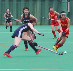 女子ホッケー日本リーグ、滋賀県内で初試合