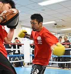八重樫「新鮮な気持ちで」 ボクシング21日王座統一戦