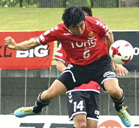 J3福島MF・鴨志田、J通算150試合出場