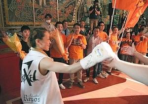 辰野出身・小沢選手 女子ボクシング世界戦初挑戦
