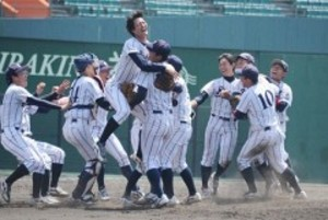 岡山商大、10季ぶりリーグ制覇 中国六大学野球