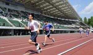 680人が陸上好記録目指し奮闘 岡山県障害者スポーツ大会